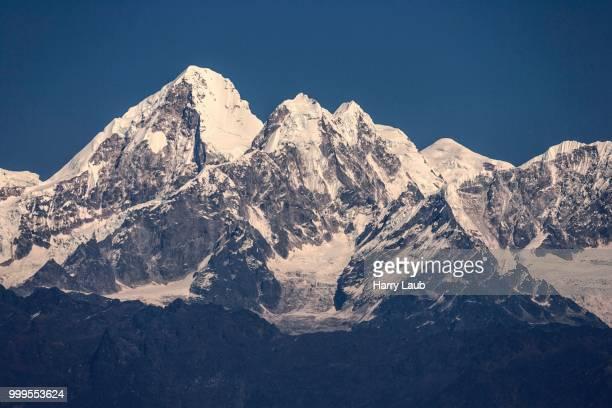 Mountains of the Himalayas, at Nagarkot, Nepal