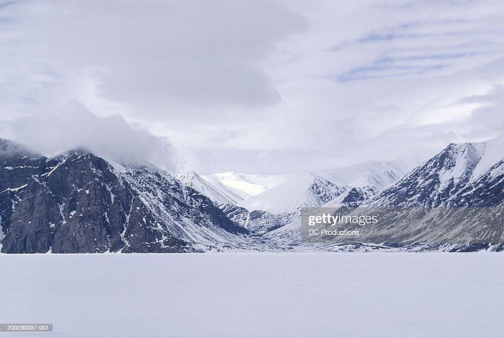 Mountains on Baffin Island, Canada : Stock Photo