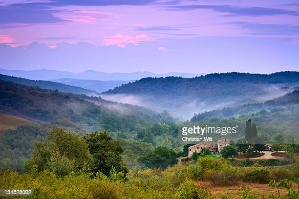 mountains - chianti region stock pictures, royalty-free photos & images