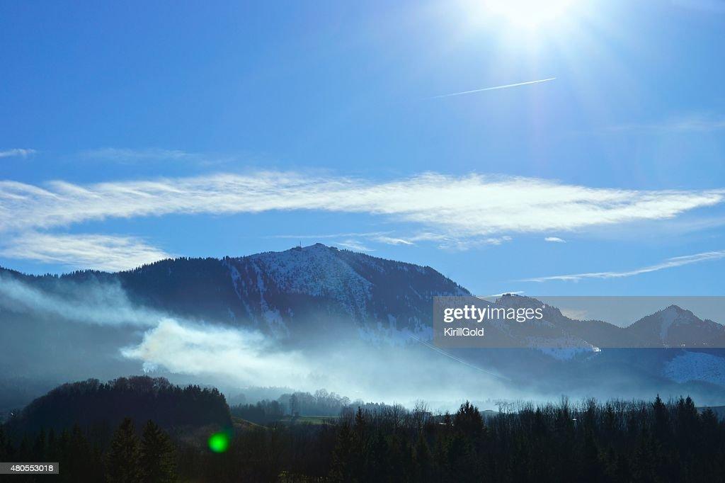 Montanhas : Foto de stock