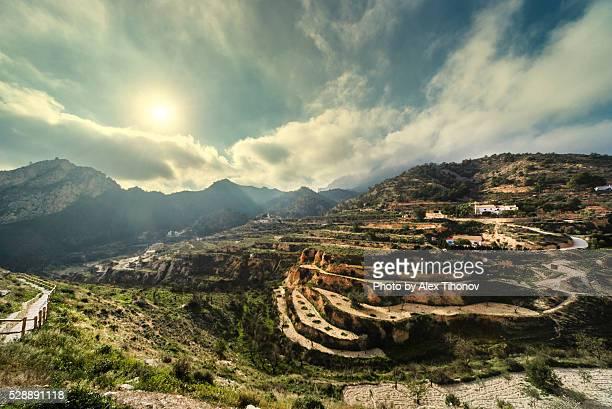 mountains - alicante photos et images de collection