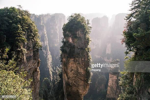 Mountans of Zhangjiajie National Forest Park, landscape scenery, Zhangjiajie, Hunan, China