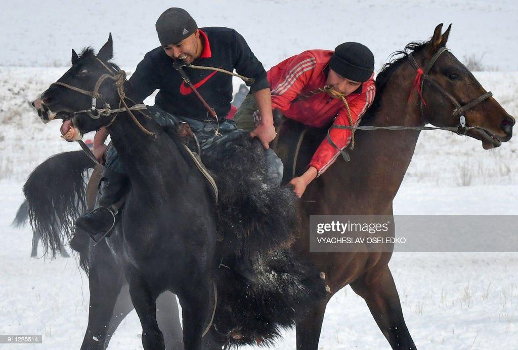 KYRGYZSTAN-CULTURE-SPORT-FEATURE : News Photo