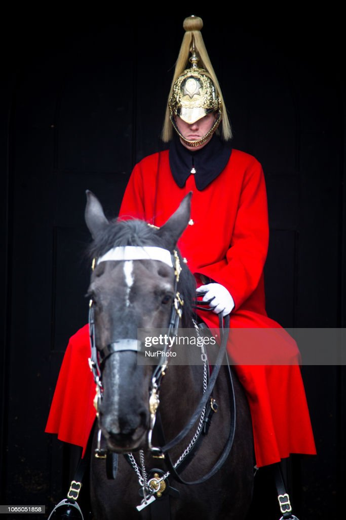Horse Guard In London : News Photo