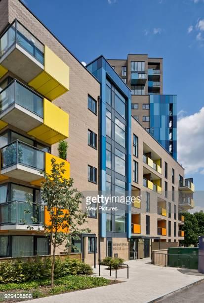 Mountsfield House Central Park Apartments Lewisham London United Kingdom Architect bptw partnership 2014