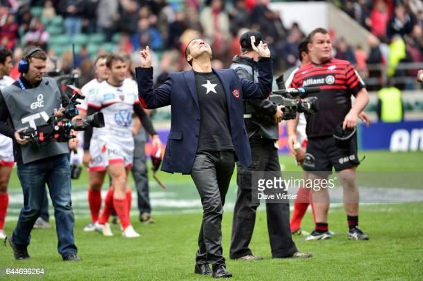 Mourad BOUDJELLAL - - Saracens / Toulon - 1/2Finale de H Cup -Twickenham , Photo: Dave Winter / Icon Sport
