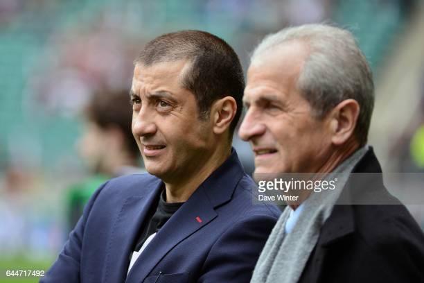 Mourad BOUDJELLAL / Hubert FALCO - - Saracens / Toulon - 1/2Finale de H Cup -Twickenham , Photo: Dave Winter / Icon Sport