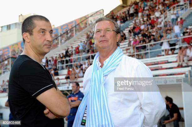 Mourad BOUDJELLAL / Jacky LORENZETTI - - Toulon / Racing Metro 92 - Match Amical -Stade Felix Mayol ,