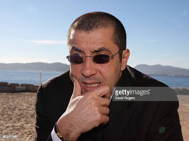 Mourad Boudjellal owner of Toulon Rugby Club pictured in Toulon on December 5 2007 in Toulon France