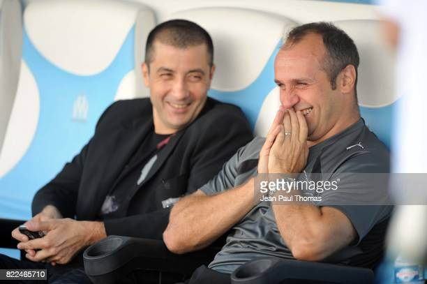 Mourad BOUDJELLAL / Philippe SAINT ANDRE - - Toulon / Toulouse - 7e journee Top 14 - Stade Mayol - Toulon,