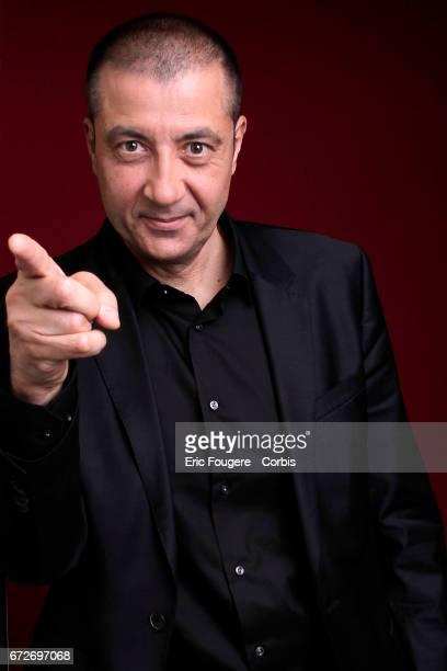 Mourad Boudjellal poses during a portrait session in Paris, France on .