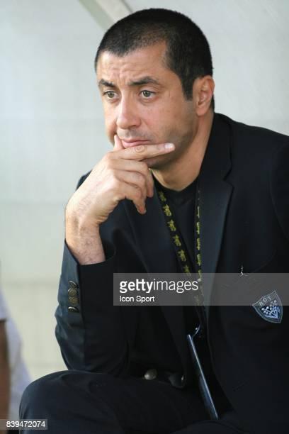 Mourad BOUDJELLAL - President TOULON - Beziers / Toulon - - 6eme journee de Pro D2 -