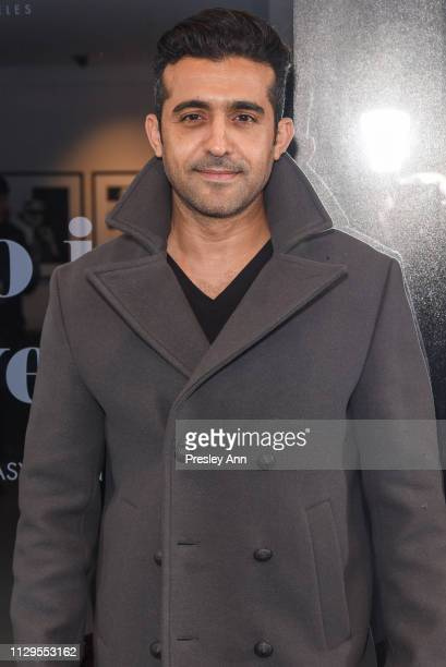 Mourad Zaoui attends Oliver Peoples x Tasya van Ree Celebrates Who is Oliver Exhibition at LECLAIREUR on February 13 2019 in Los Angeles California