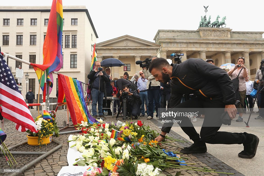 Berlin Commemorates Orlando Terror Victims : News Photo