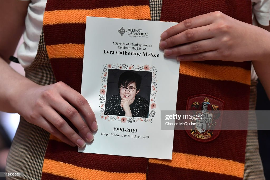 GBR: Funeral For Journalist Lyra McKee Held In Belfast