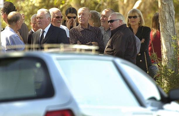 Funeral Held For Melbourne Underworld Figure Lewis Moran