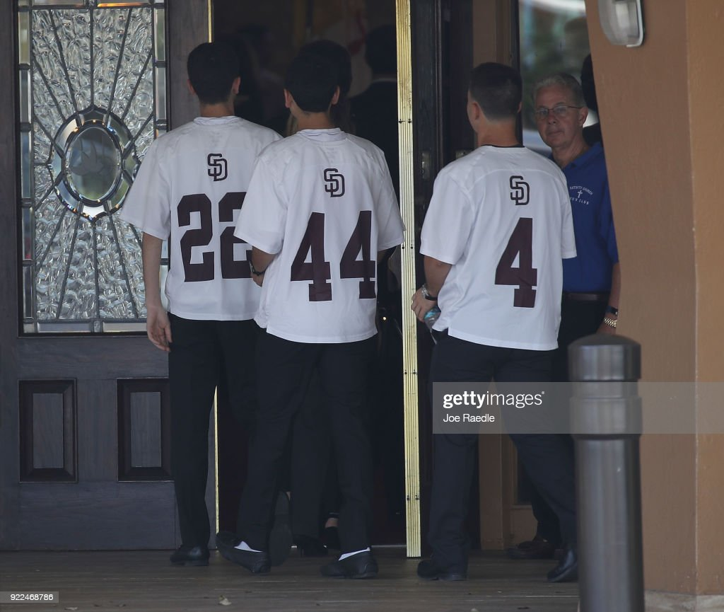 Funerals Held For Victims Of Parkland, FL High School Shooting : Photo d'actualité