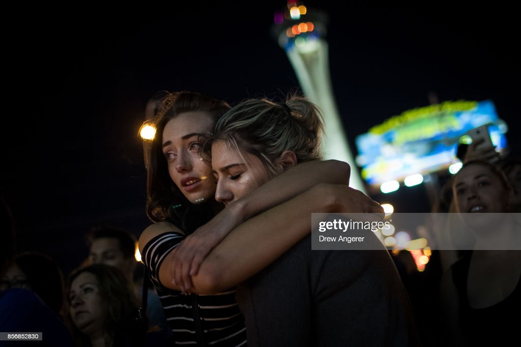 Mass Shooting At Mandalay Bay In Las Vegas Leaves At Least 50 Dead : News Photo