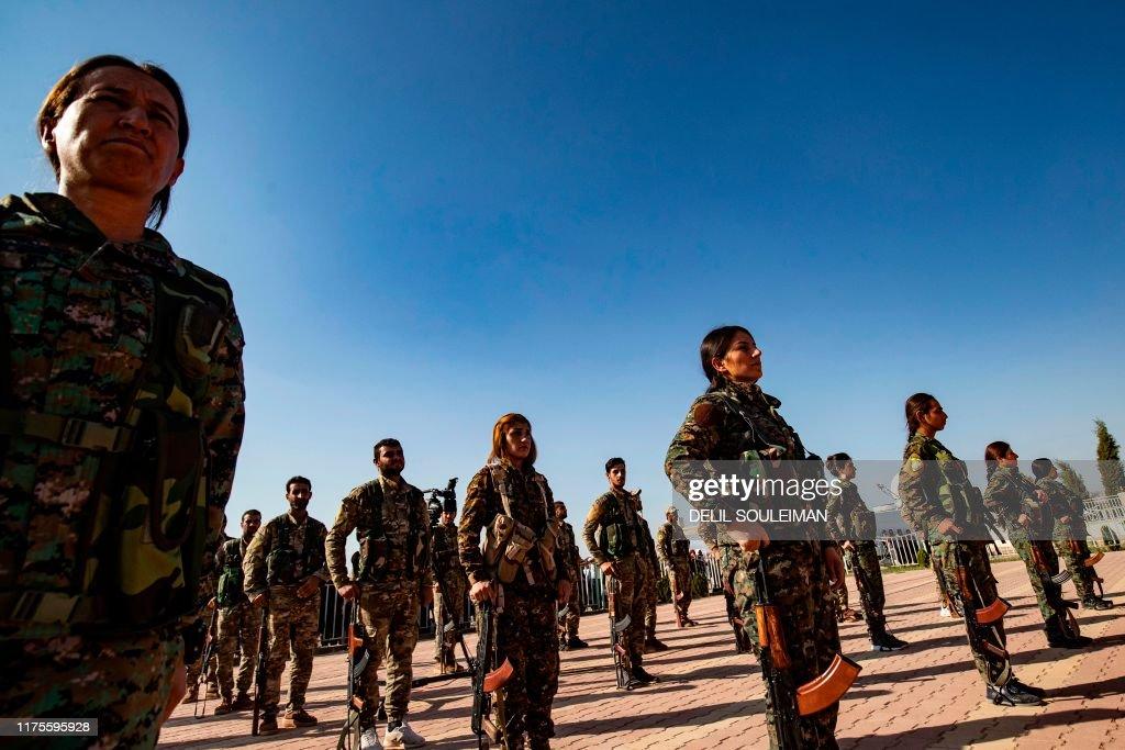 SYRIA-CONFLICT-TURKEY-KURDS : News Photo