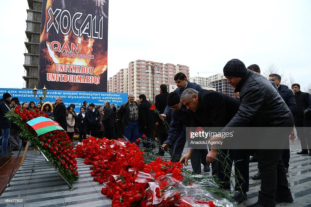 Commemorations for people massacred in Khojaly Massacre