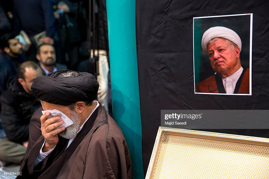 Iran Pays Its Respects to Former President Rafsanjani : News Photo
