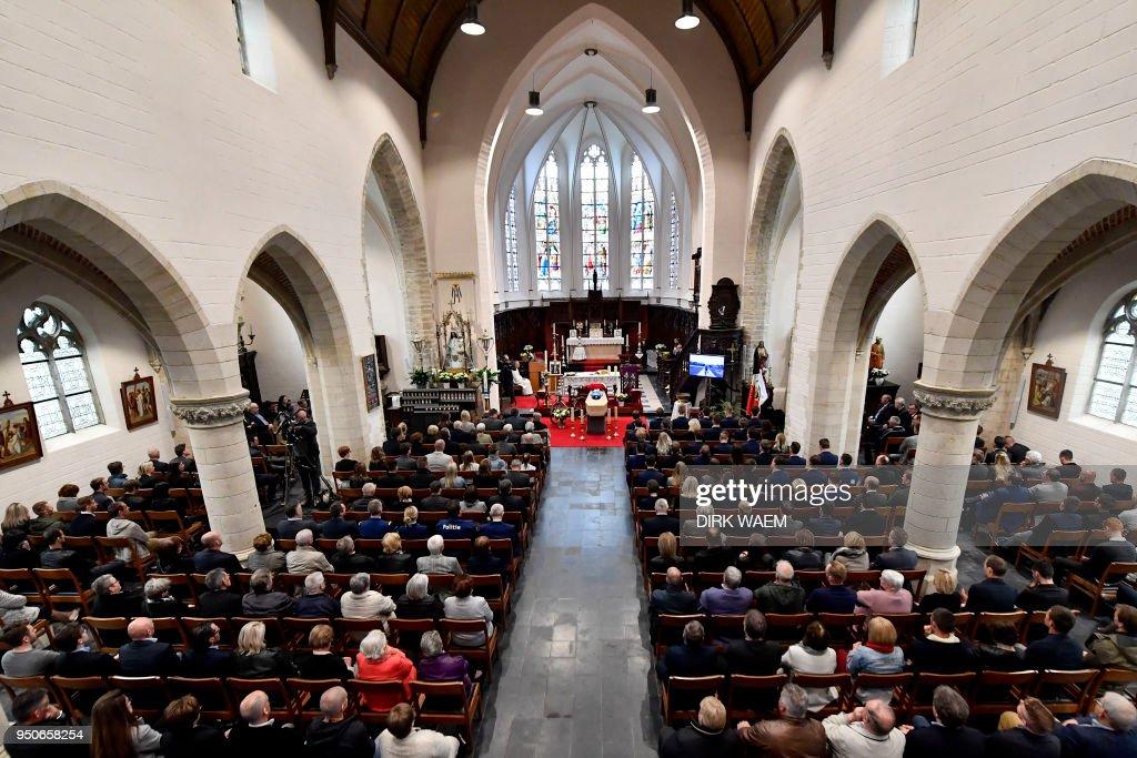Resultado de imagen para funeral de Michael Goolaerts en Bélgica