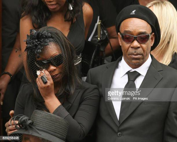 Mourners leave the funeral of Lance Sergeant Dale McCallum of 1st Battalion Scots Guards at the New Testament Church of God in Willesden north London