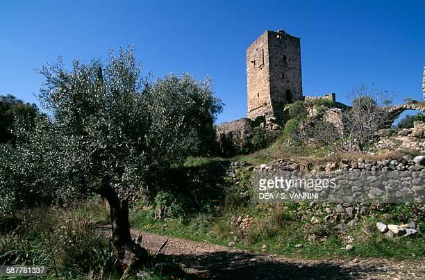 Mourtzinos tower in Kardamyli Peloponnese Greece