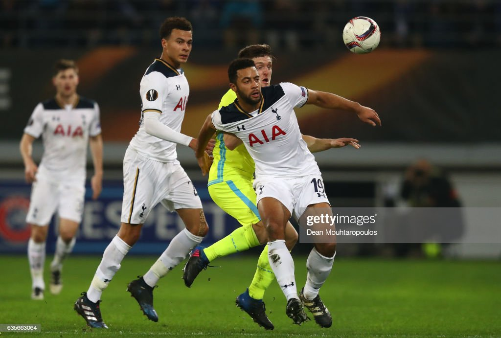 KAA Gent v Tottenham Hotspur - UEFA Europa League Round of 32: First Leg : News Photo