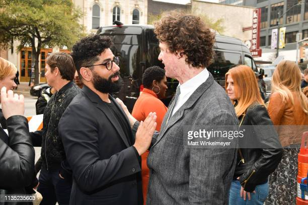 Mousa Kraish and Chris Morris attend the The Day Shall Come Premiere 2019 SXSW Conference and Festivals at Paramount Theatre on March 11 2019 in...