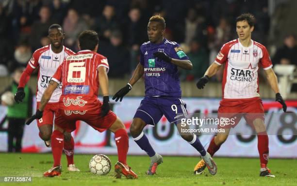 20171118 Mouscron Belgium / Excel Mouscron v Rsc Anderlecht / 'nHenry ONYEKURU'nFootball Jupiler Pro League 2017 2018 Matchday 15 / 'nPicture by...