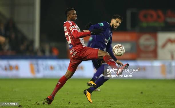 20171118 Mouscron Belgium / Excel Mouscron v Rsc Anderlecht / 'nJonathan BOLINGI Josue SA'nFootball Jupiler Pro League 2017 2018 Matchday 15 /...