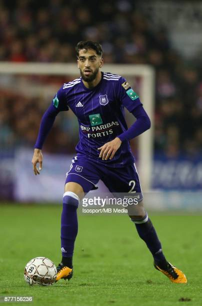 20171118 Mouscron Belgium / Excel Mouscron v Rsc Anderlecht / 'nJosue SA'nFootball Jupiler Pro League 2017 2018 Matchday 15 / 'nPicture by Vincent...