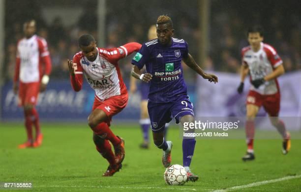 20171118 Mouscron Belgium / Excel Mouscron v Rsc Anderlecht / 'nNathan DE MEDINA Henry ONYEKURU'nFootball Jupiler Pro League 2017 2018 Matchday 15 /...