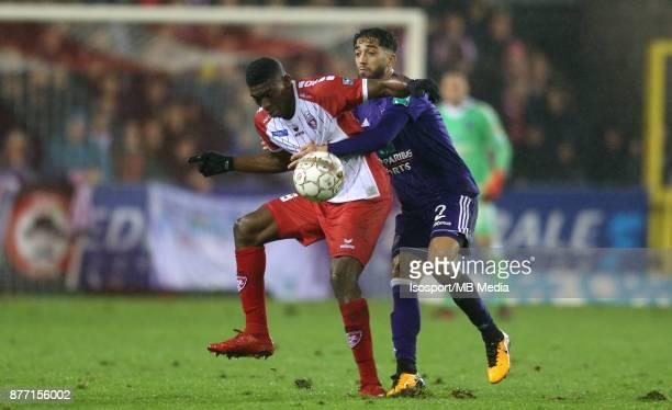 20171118 Mouscron Belgium / Excel Mouscron v Rsc Anderlecht / 'nTaiwo AWONIYI Josue SA'nFootball Jupiler Pro League 2017 2018 Matchday 15 / 'nPicture...