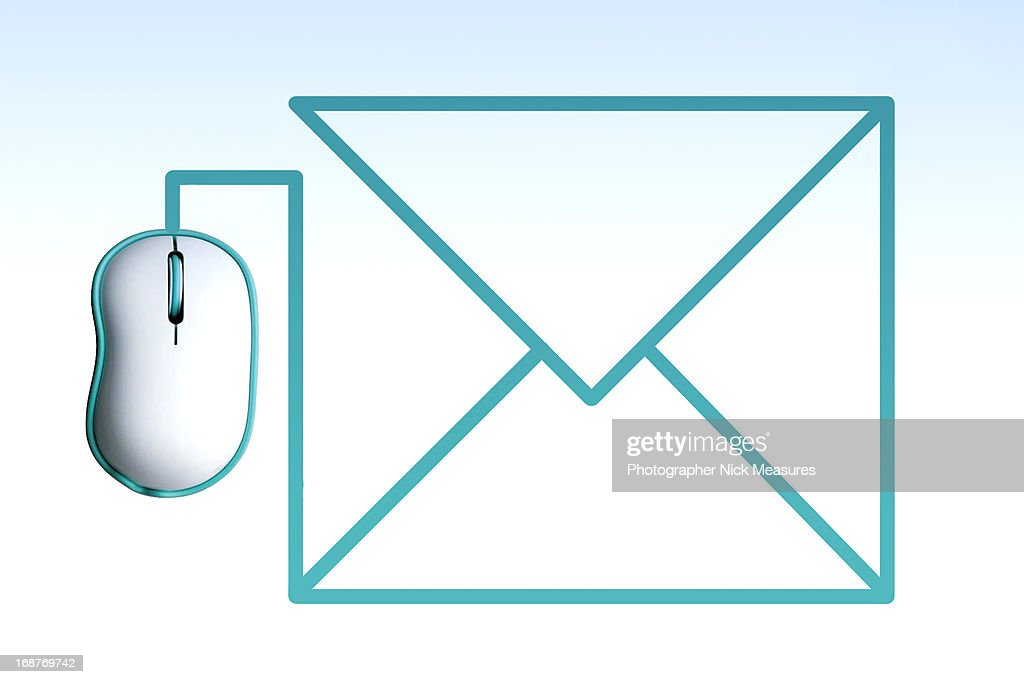 Mouse E-Mail : Stock Photo