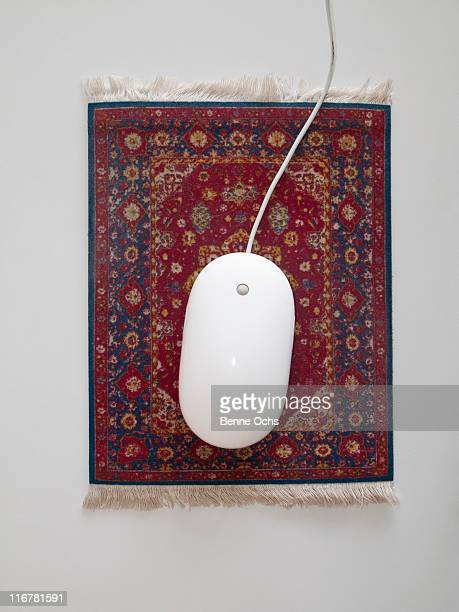 Mouse on the Magic carpet.