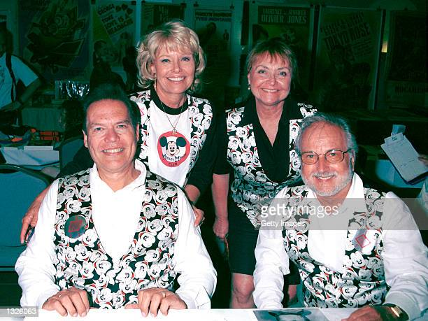 Mouseketeers from 'The Mickey Mouse Club' attend the Hollywood Collectors Celebrities Show June 23 2001 at Beverly Garland''s Holiday Inn in North...