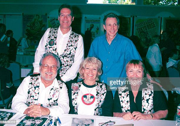 Mouseketeers from 'The Mickey Mouse Club' television show attend the Hollywood Collectors Celebrities Show June 23 2001 at Beverly Garland''s Holiday...
