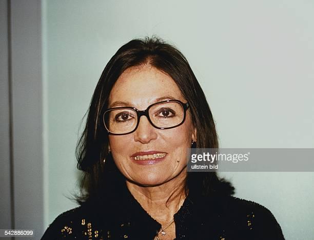 Mouskouri, Nana *-Saengerin, , Griechenland - Portrait- Dezember 1999