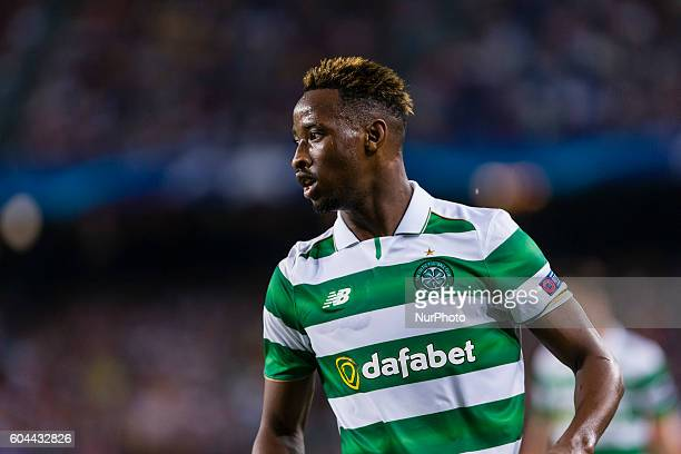 Moussa Dembele during the UEFA Champions League match corresponding to group stage match between FC Barcelona Celtic FC played at Camp Nou on 13th...