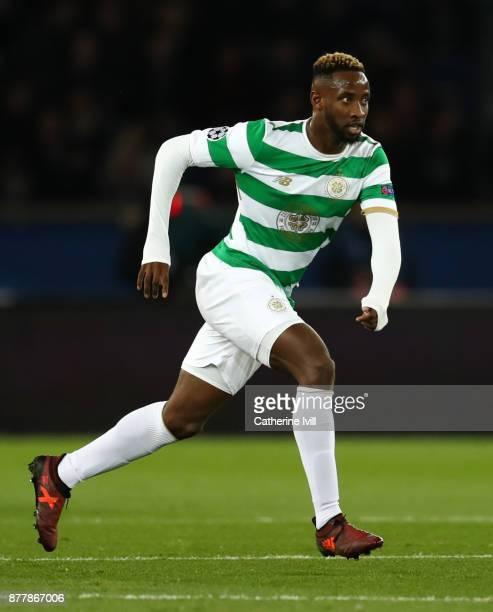 Moussa Dembele of Celtic during the UEFA Champions League group B match between Paris SaintGermain and Celtic FC at Parc des Princes on November 22...