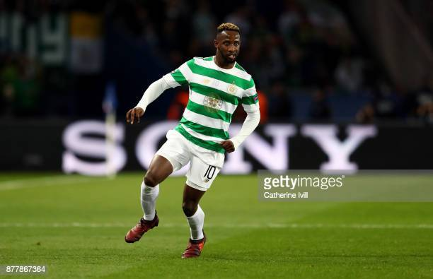 Moussa Dembele of Celtic during the UEFA Champions League group B match between Paris SaintGermain and Celtic FC at Parc des Princes on November 22...