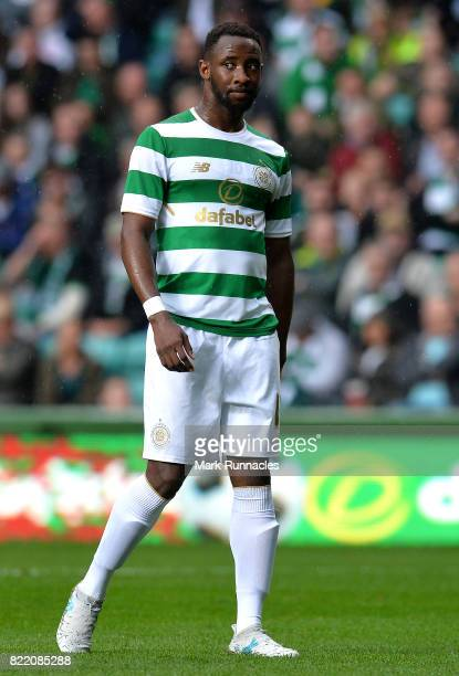 Moussa Dembele of Celtic in action during the UEFA Champions League Qualifying Second Round Second Leg match between Celtic and Linfield at Celtic...