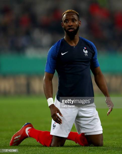 Moussa Dembele of France is seen during the Germany U21 v France U21 International Friendly match on March 21 2019 in Essen Germany