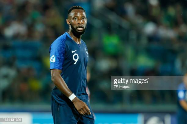Moussa Dembele of France looks on during the 2019 UEFA U21 Group C match between France and Croatia at San Marino Stadium on June 21 2019 in...