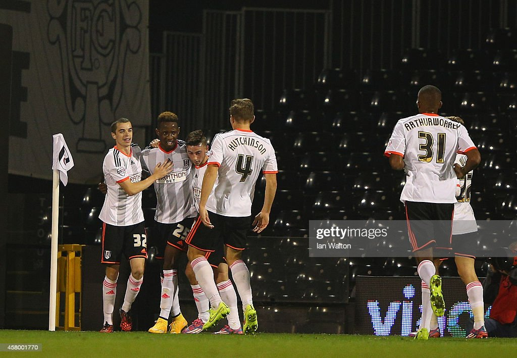 Fulham v Derby County - Capital One Cup Fourth Round : News Photo