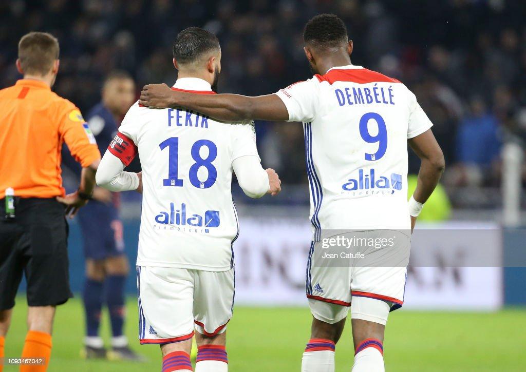 Olympique Lyonnais v Paris Saint-Germain - Ligue 1 : ニュース写真