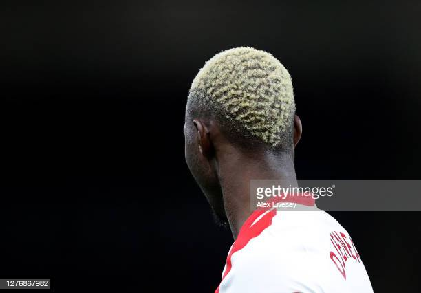 Moussa Djenepo of Southampton looks on during the Premier League match between Burnley and Southampton at Turf Moor on September 26 2020 in Burnley...