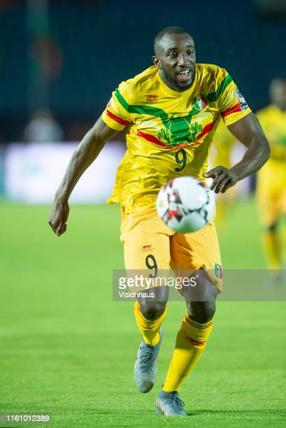 Moussa Marega of Mali during the 2019 Africa Cup of Nations Group E match between Mali and Mauritania at Suez Stadium on June 24 2019 in Suez Egypt